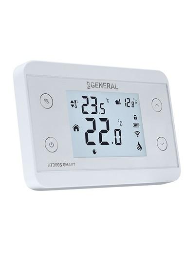 General Life HT300S Smart Wi-Fi Kontrollü Kablosuz Oda Termostatı Beyaz